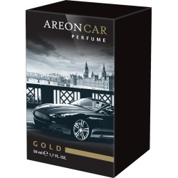 AREON PERFUME 50 ML GLASS - Gold